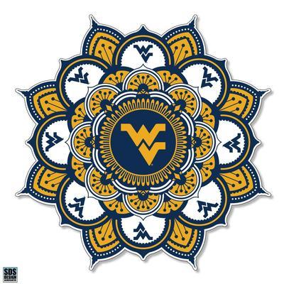 West Virginia SDS Design Kaleidoscope Decal