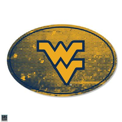 West Virginia SDS Design Halftone Decal