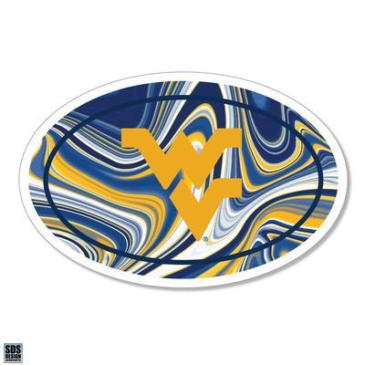 West Virginia SDS Design Marble Decal