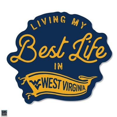 West Virginia SDS Design Best Life Decal
