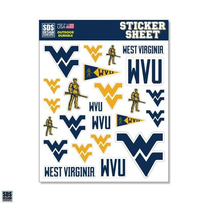 West Virginia SDS Design Sticker Sheet