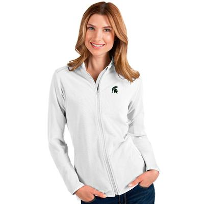 Michigan State Antigua Glacier Full Zip