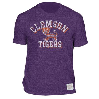 Clemson Arch Standing Tiger Mocktwist Tee
