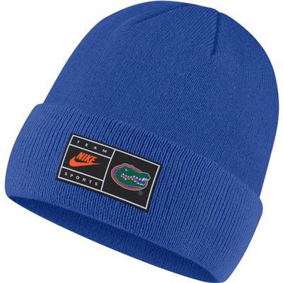 Florida Nike Throwback Label Cuff Beanie