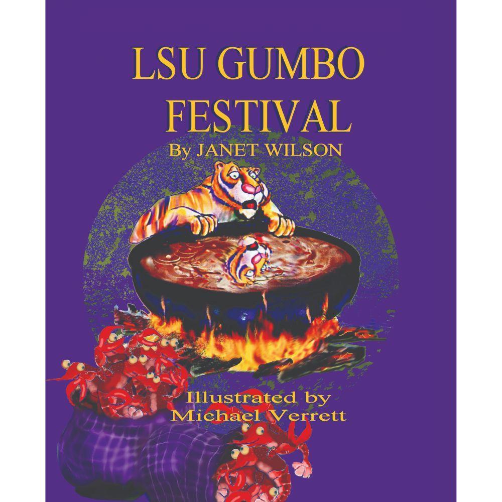 Lsu Gumbo Festival By Janet Wilson