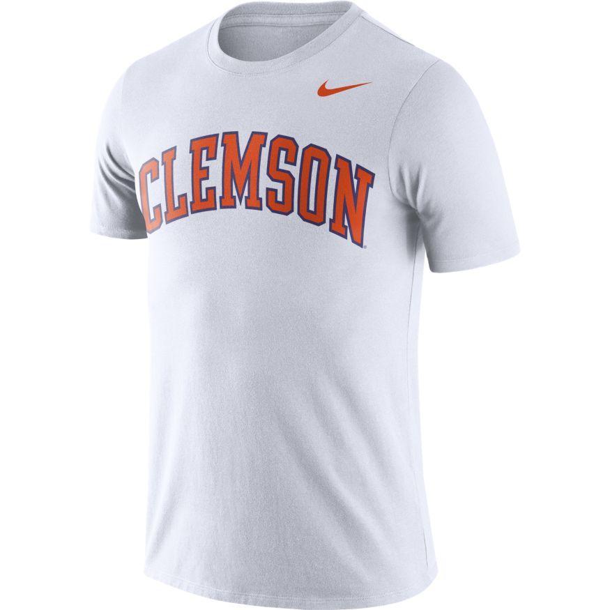 Clemson Nike Dri- Fit Short Sleeve Tee