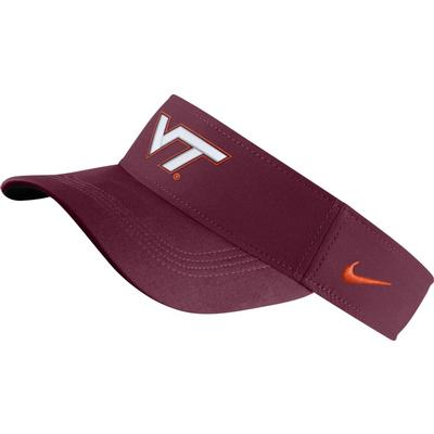 Virginia Tech Hokies Nike Dry Visor