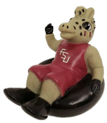 FSU Cimarron Rubber Tubber Bath Toy