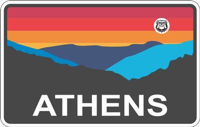 Athens Horizon Decal