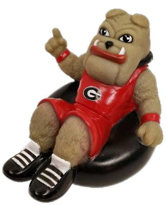 Georgia Hairy Dawg Rubber Tubbers Bath Toy