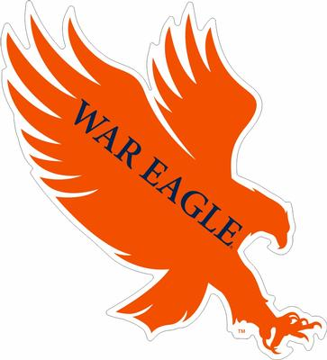 War Eagle 4' Decal