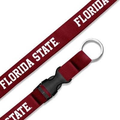 FSU Jardine Collection 3/4 inch Woven Lanyard