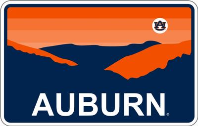 Auburn Horizon Decal