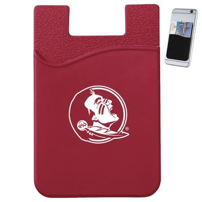 FSU Slim Silicone Phone Wallet