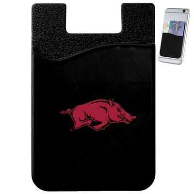 Arkansas Slim Silicone Phone Wallet