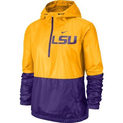 LSU Nike Women's Anorak Jacket