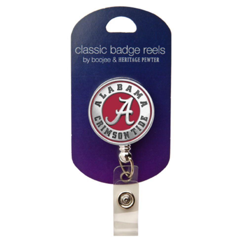 Alabama Heritage Pewter Red Badge Reel