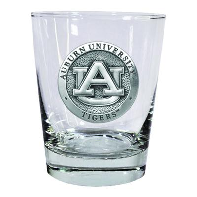 Auburn Heritage Pewter Rocks Glass