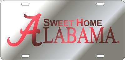 Sweet Home Alabama Silver License Plate