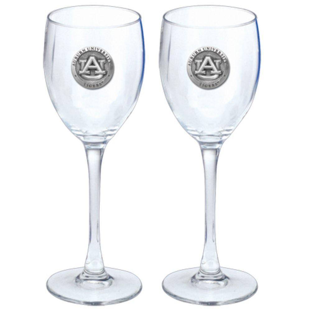 Auburn Heritage Pewter Wine Glasses