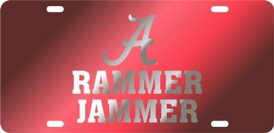 Alabama Rammer Jammer License Plate