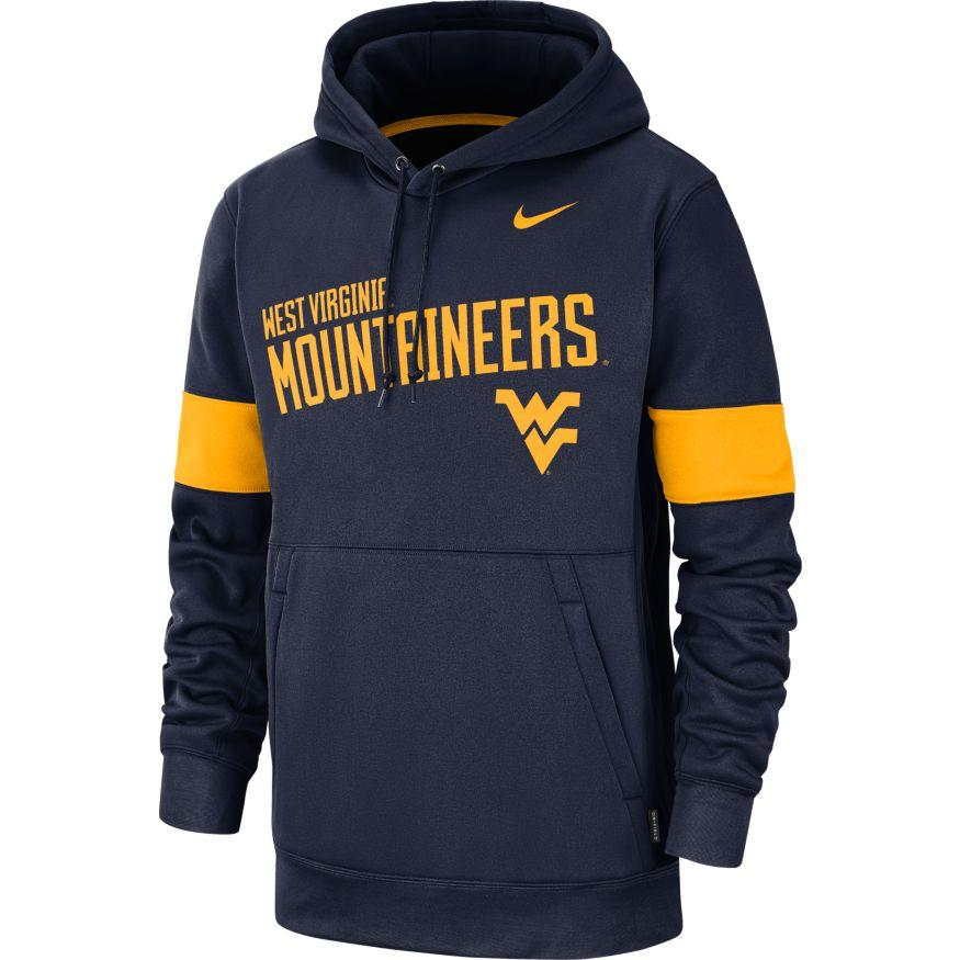 West Virginia Nike Pullover Therma Hoody