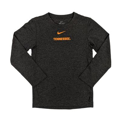 Tennessee Kid's Long Sleeve Coach Tee