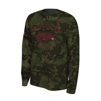 Arkansas Nike 2019 Veterans Day Long Sleeve Tee