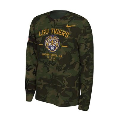 LSU Nike 2019 Veterans Day Long Sleeve Tee