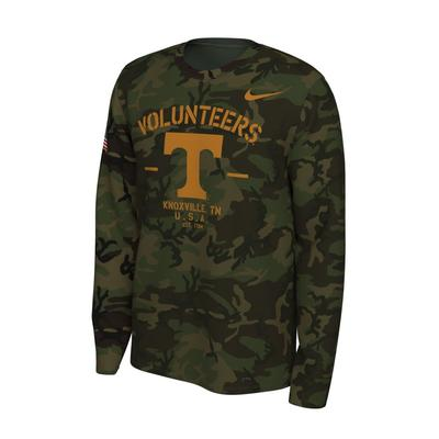 Tennessee Nike 2019 Veterans Day Long Sleeve Tee
