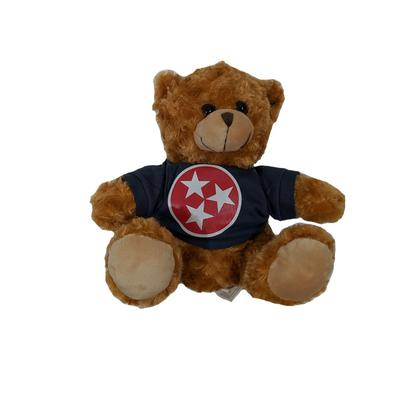 Tennessee Kid's Red Tristar Hoodie Bear