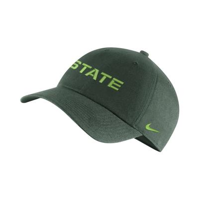 Michigan State Nike H86 Adjustable Hat