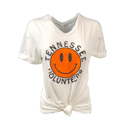 Tennessee Women's Smiley Knotted Tee