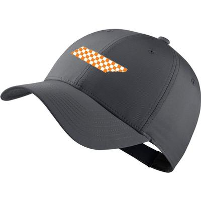 Tennessee Nike Golf L91 Adjustable Checkerboard State Tech Cap