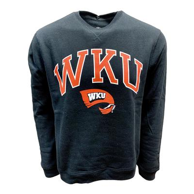 Western Kentucky Screen Fleece Crew