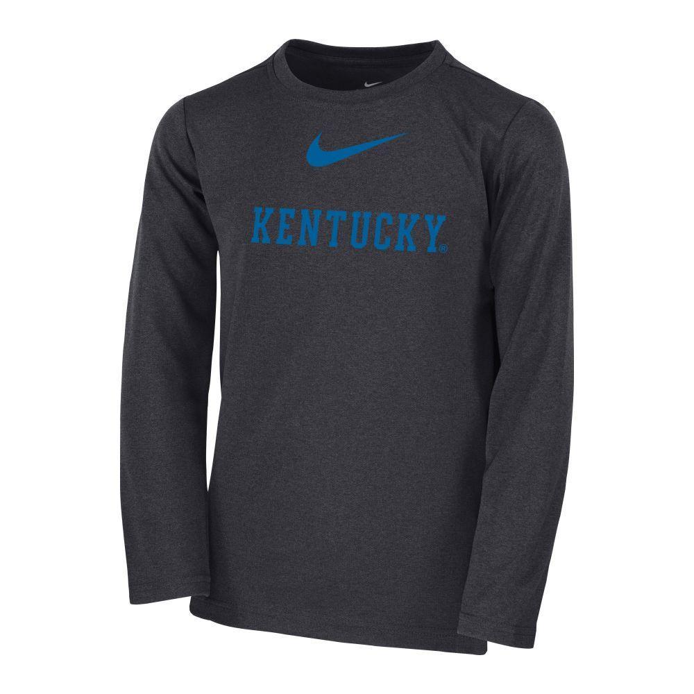 Kentucky Kid's Long Sleeve Coach Tee