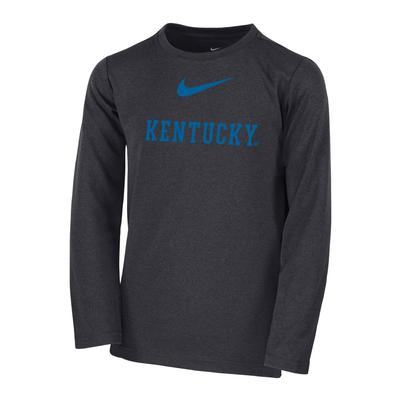 Kentucky Kid's Long Sleeve Coach Tee