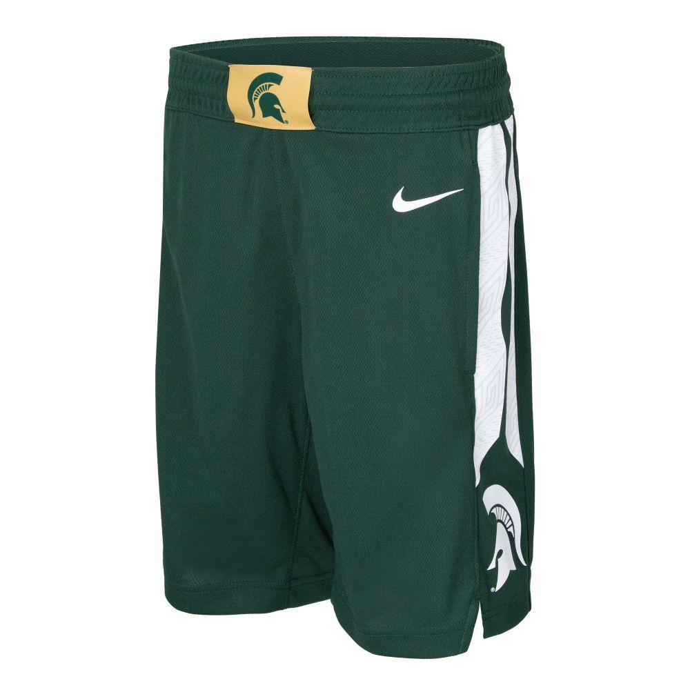 Michigan State Nike Boys Basketball Shorts