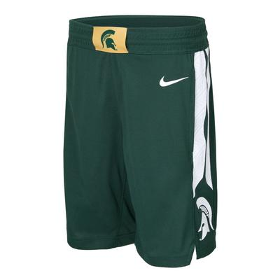 Michigan State Nike Boys Basketball Shorts