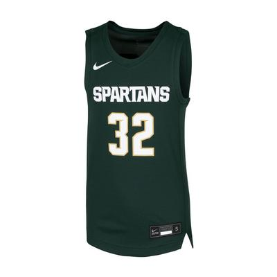Michigan State Nike Youth Basketball Jersey #32