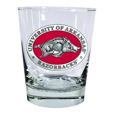 Arkansas Heritage Pewter Circular Rocks Glass