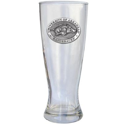 Arkansas Heritage Pewter Pilsner Glass