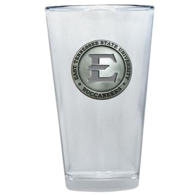 ETSU Heritage Pewter Pint Glass