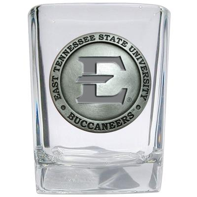 ETSU Heritage Pewter Square Shot Glass