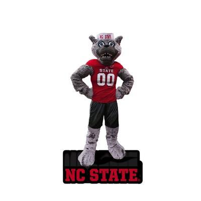 NC State Evergreen Mascot Statue