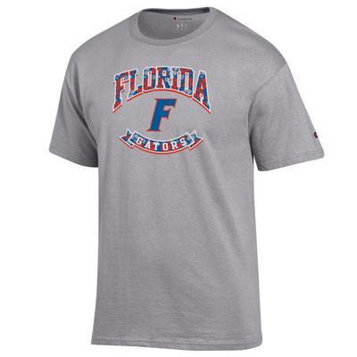 Florida Gators Floral Banner F Logo 2 for $28 Tee
