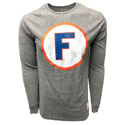 Florida Retro Brand Circle F Logo Long Sleeve Tee