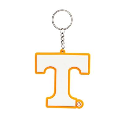 Tennessee Evergreen PVC Keychain