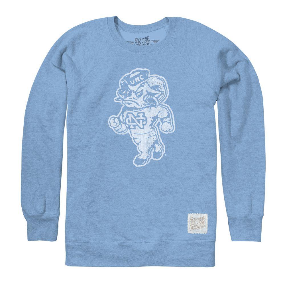 Unc Retro Brand Vault Logo Crew Sweatshirt