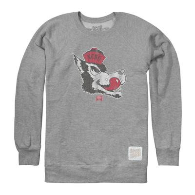 NC State Retro Brand Vault Logo Crew Sweatshirt